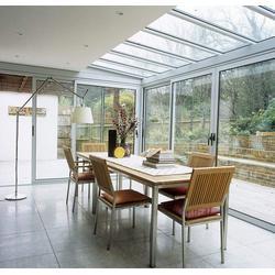 玻璃阳光房定做-防城港阳光房定做-中亚铝材门窗定做图片