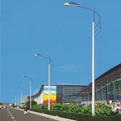 太阳能路灯组件路灯源文件图库图片