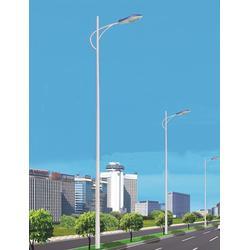 厂家直销大功率LED路灯头 市电单臂路灯 户外一体化太阳能路灯图片