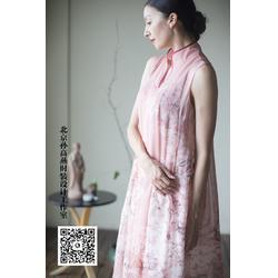 连衣裙,一花无尘,中国元素连衣裙设计图片