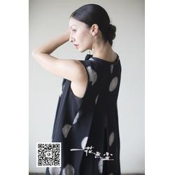 中国元素印花连衣裙 连衣裙 一花无尘(查看)图片