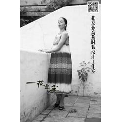 一花无尘(图)_中国元素旅行连衣裙_连衣裙图片