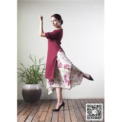 一花无尘(图)|质感连衣裙定制|连衣裙图片