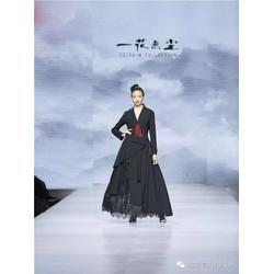 一花無塵(圖)-中式連衣裙-連衣裙