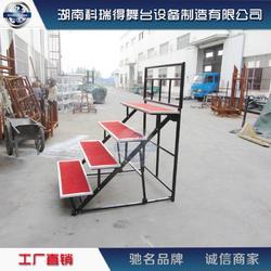 钢铁三层四层五层折叠合唱台合影台图片