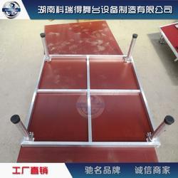 厂家供应铝合金一板四腿简易舞台图片