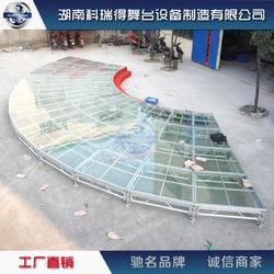 造型玻璃舞台拼装舞台活动舞台厂家供应图片