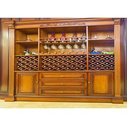 实木酒柜供应商_福满多家具(在线咨询)_实木酒柜图片
