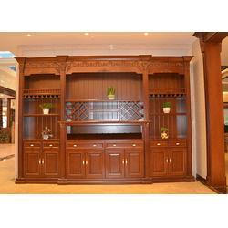 实木酒柜供应商,实木酒柜,福满多家具实木家具图片