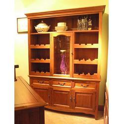 实木酒柜供应商|实木酒柜|福满多家具实木定制(查看)图片