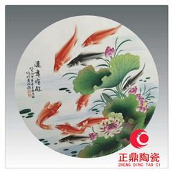 圆形瓷板画哪家好 长方形陶瓷瓷片厂家 正方形陶瓷瓷板定做图片