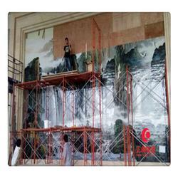 企业文化墙瓷板画定做 公司文化墙瓷板画定制图片