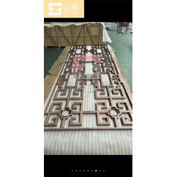 不锈钢隔断屏风,宁夏不锈钢隔断屏风,征顺金属(图)图片