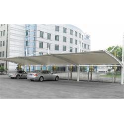 户外停车棚、停车棚、伟豪膜结构免费测量图片
