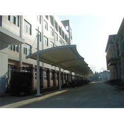 停车棚工程_伟豪膜结构(在线咨询)_台州停车棚图片