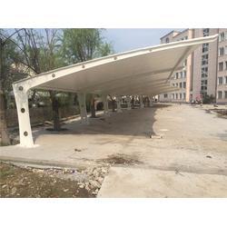 膜结构停车棚工程,伟豪膜结构免费测量,福建膜结构停车棚图片