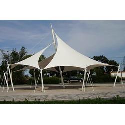 道路景观棚安装-伟豪膜结构免费设计-南京道路景观棚图片
