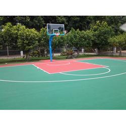 益阳市篮球场地、辉跃体育设施有限公司(在线咨询)、篮球场地图片
