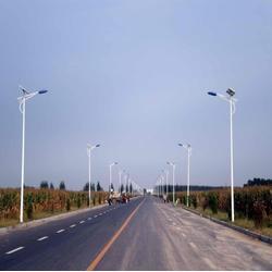 太陽能路燈-揚州強大光電科技-6M太陽能路燈圖片