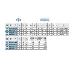可调式尖型侧面固定限位器、限位器、IMAO今尾图片