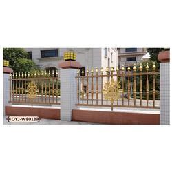 许昌铝艺围栏厂家电话、铝艺围栏、【欧园居门业】图片