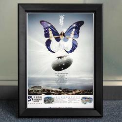 墻體框架鈞尚展示產品介紹框廣告器材組裝發貨圖片