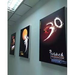 专营挂墙高品质卡布灯箱铝合金型材厂家直销图片