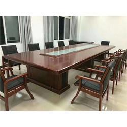 江汉会议桌椅-学校会议桌椅-格诺森办公家具图片