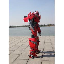 宁波人穿可穿戴变形金刚-济升玩具厂家直销图片