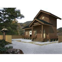 民宿木屋多少钱一平方,江苏民宿木屋,【沅木景观】图片