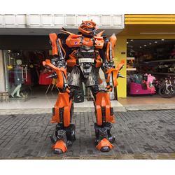 枣庄变形金刚真人穿戴视频、济升玩具厂家直销