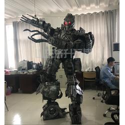 人气互动可穿戴机器人 真人可穿戴机器人 济升玩具信誉保证图片