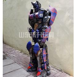 阿坝变形金刚可穿戴机器人,山东济升玩具厂家直供图片
