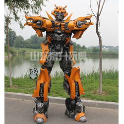 山东真人版变形金刚盔甲,济升玩具信誉保证,演出服变形金刚盔甲