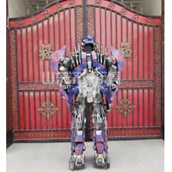 山东济升玩具诚信经营(多图)-铜陵可穿戴变形金刚道具服招商图片