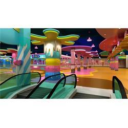 广东儿童乐园,室内儿童乐园淘气堡,飞熊环境艺术设计图片
