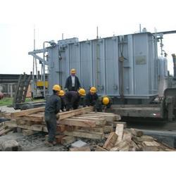 工业园区设备搬运-统安吊装公司-重庆设备搬运图片