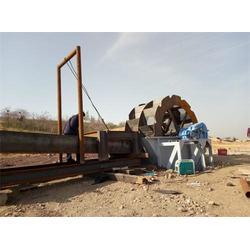 螺旋洗砂机厂家电话-顺飞(在线咨询)烟台螺旋洗砂机图片