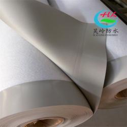 1.2mm聚氯乙烯PVC防水卷材 屋顶防水隔热材料 外漏型加筋PVC防水卷材图片