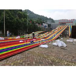 七彩旱地滑雪 延长滑雪场周期的彩虹滑道图片