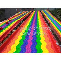 彩虹滑道哪里有七彩滑道厂家专业生产各种网红滑道图片