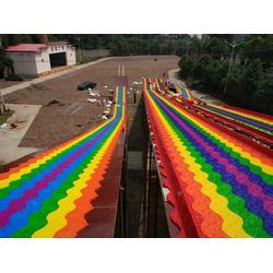 一年四季都能滑的旱雪滑道彩虹滑道厂家直销图片