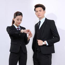 职业装-职场工作服正装定做-商务休闲西装西裙定做图片