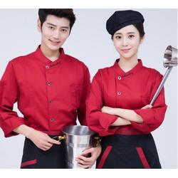 夏季薄款厨师服定做,男短袖工作服定制,定做厨师工装定制印字图片