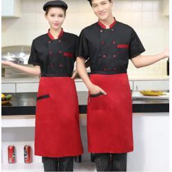 荔湾区围裙韩版时尚定做,厨房成人围裙定做,防油纯棉咖啡厅牛仔工作围裙定做,时尚设计图片