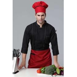 廚房大廚工作服定制-酒店定做廚房廚師服套裝-廚師定制圖片