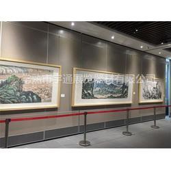 兴安盟轨道式展板-宇通展览器材图片
