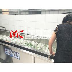 宿州山野菜气泡清洗机、山野菜气泡清洗机多少钱、明超公司图片