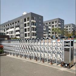 芜湖维克兹智能-不锈钢伸缩门厂家-芜湖不锈钢伸缩门图片
