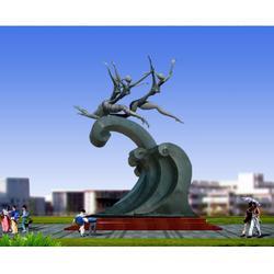 不锈钢雕塑 摆件_大展雕塑_济南不锈钢雕塑图片